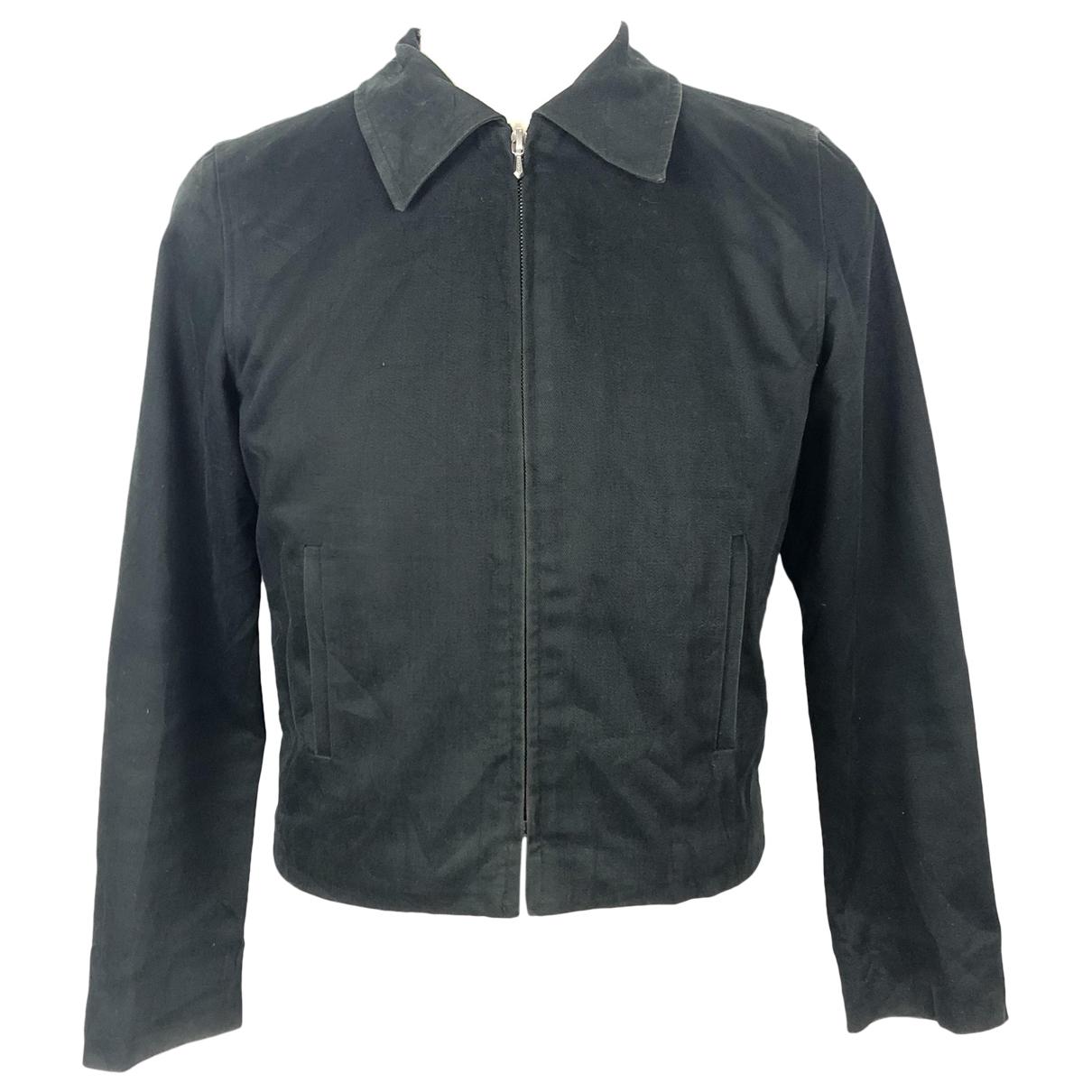 Agnès B. \N Black Cotton jacket for Women S International
