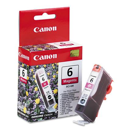 Canon BCI-6M Original Magenta Ink Cartridge