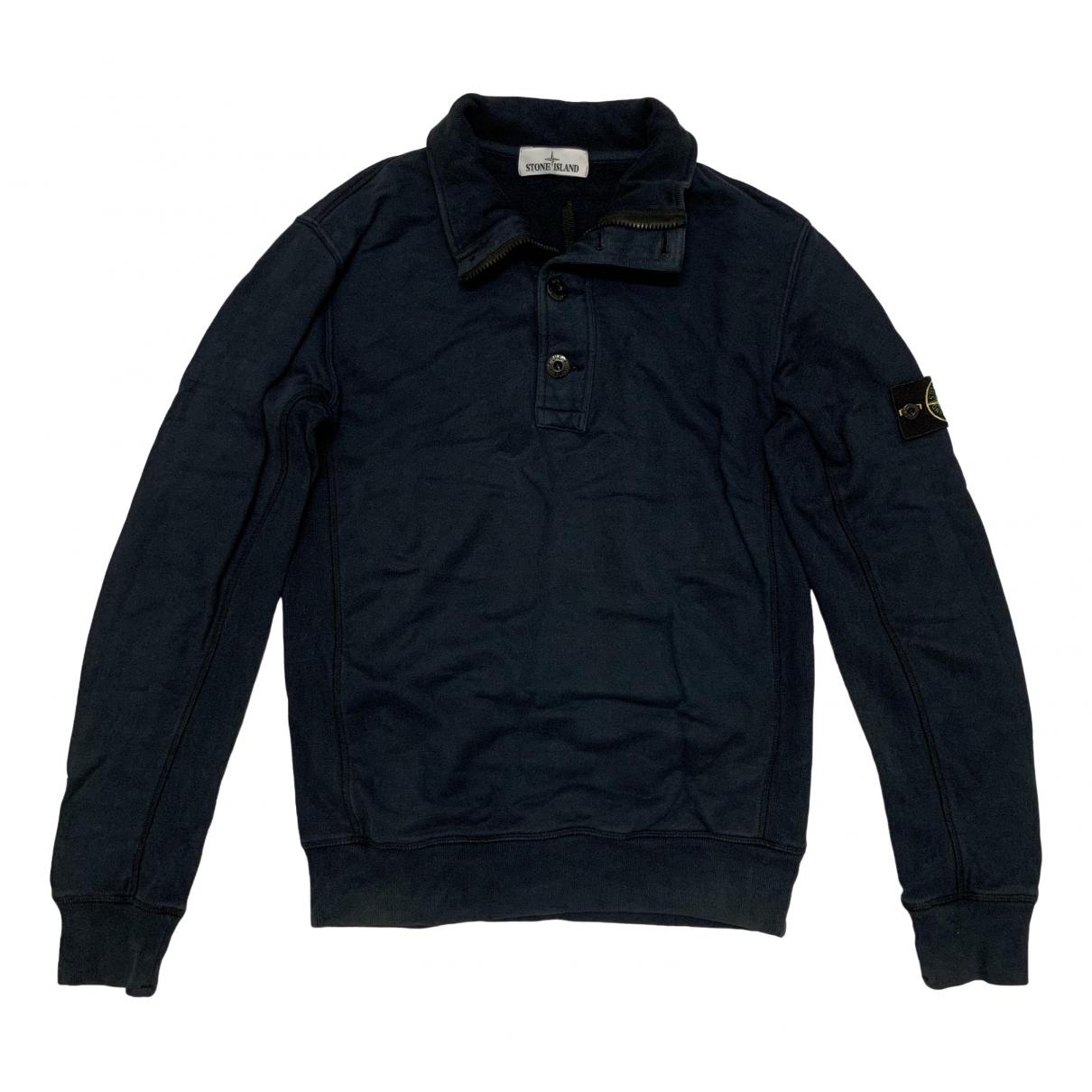 Stone Island \N Navy Cotton Knitwear & Sweatshirts for Men M International