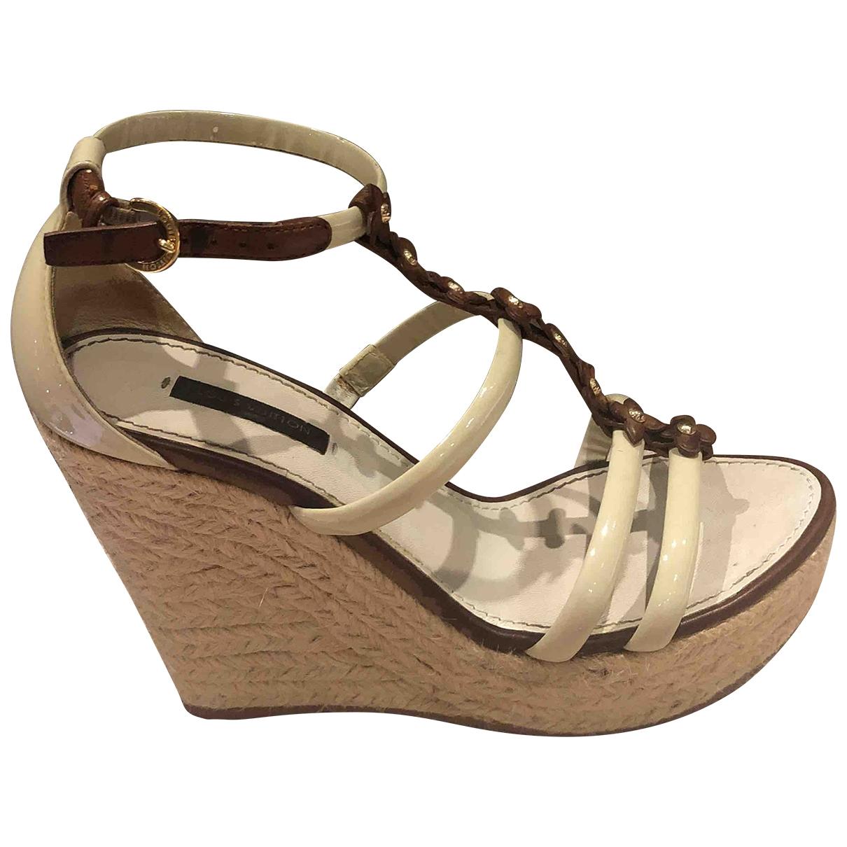 Sandalias romanas de Charol Louis Vuitton