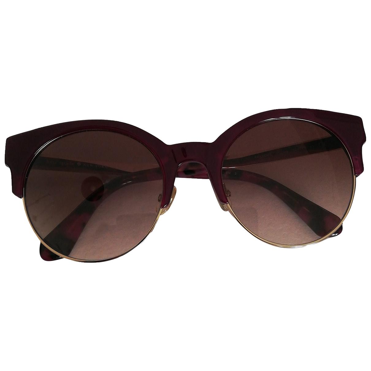 Kate Spade \N Purple Metal Sunglasses for Women \N