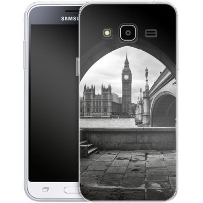 Samsung Galaxy J3 (2016) Silikon Handyhuelle - Houses Of Parliament von Ronya Galka