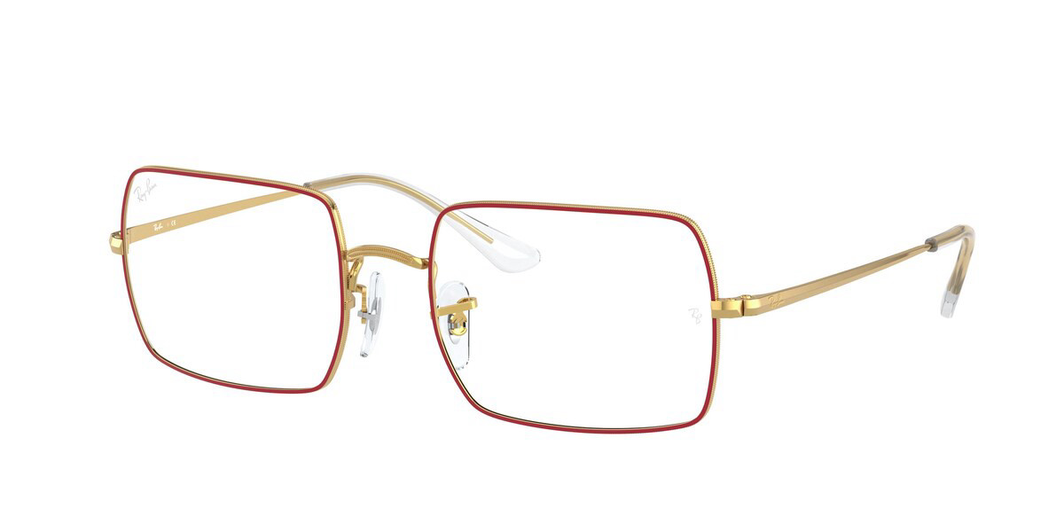 Ray-Ban RX1969V 3106 Men's Glasses Red Size 51 - HSA/FSA Insurance - Blue Light Block Available