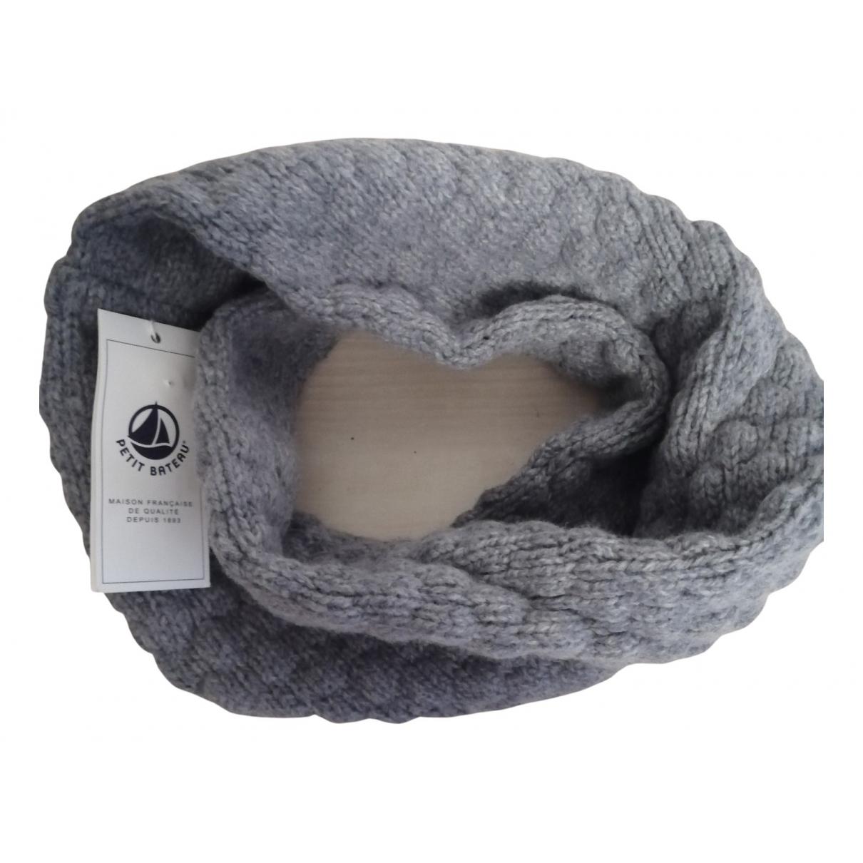 Petit Bateau \N Schal in  Grau Wolle