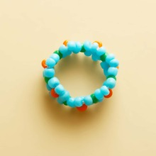 Girls Colorful Beaded Ring
