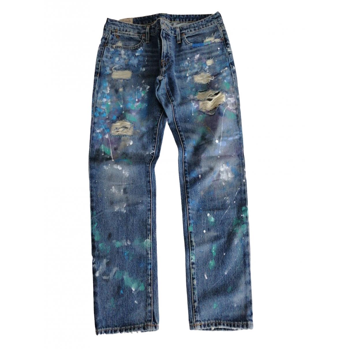 Polo Ralph Lauren \N Blue Denim - Jeans Jeans for Women 28 US