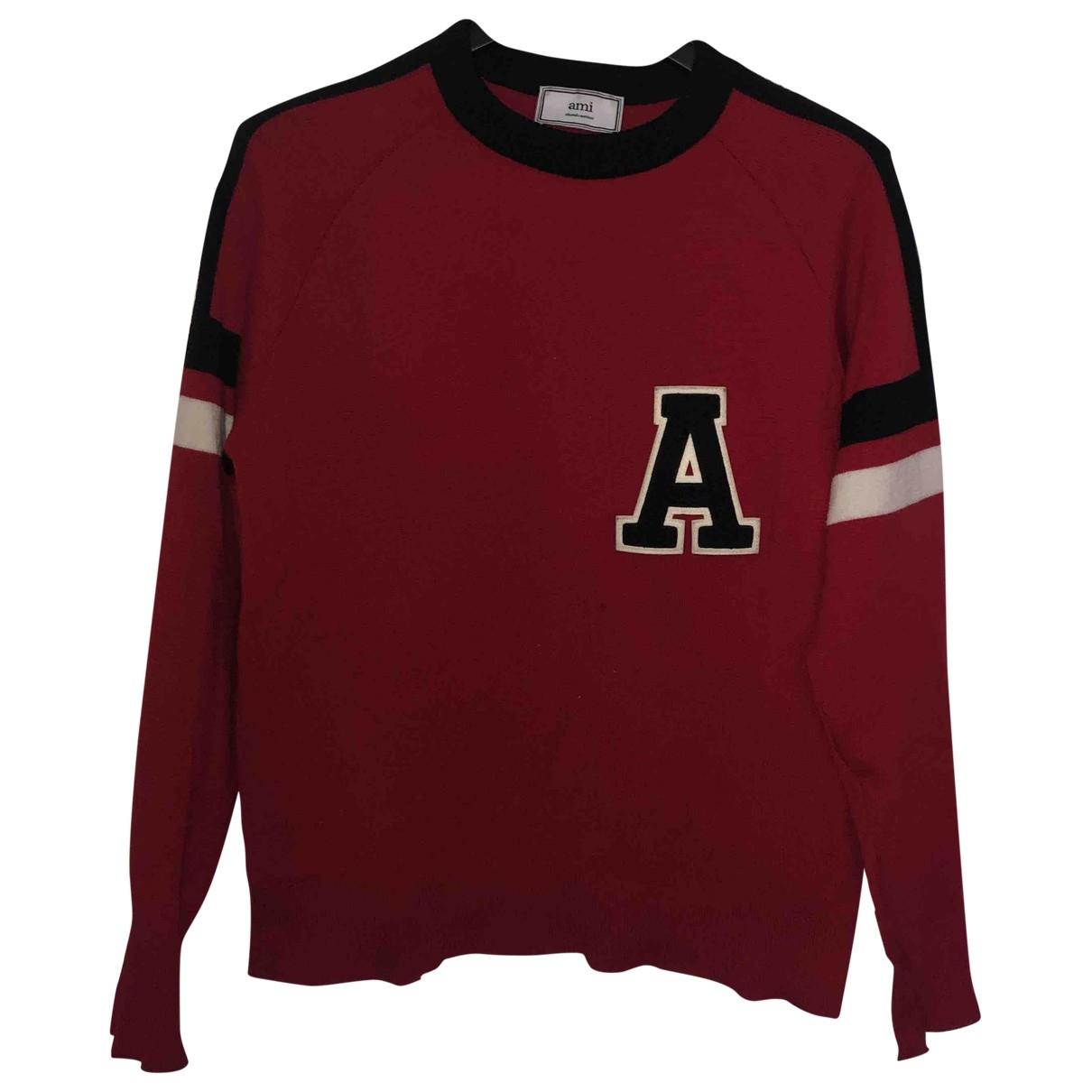 Ami \N Red Wool Knitwear & Sweatshirts for Men S International