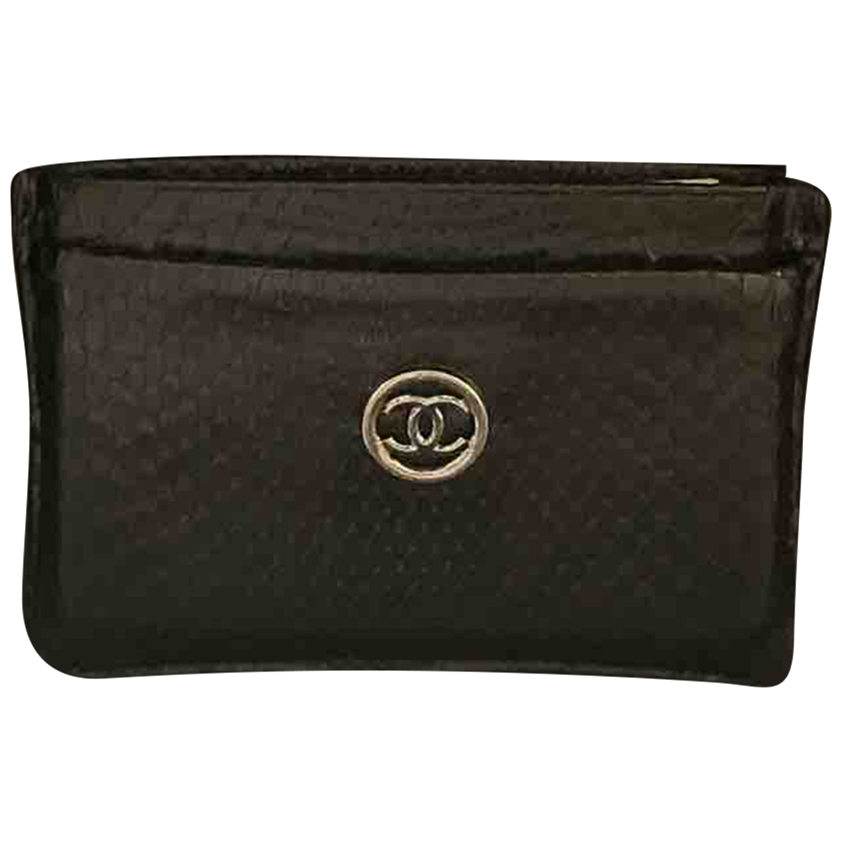 Chanel N Black Python wallet for Women N