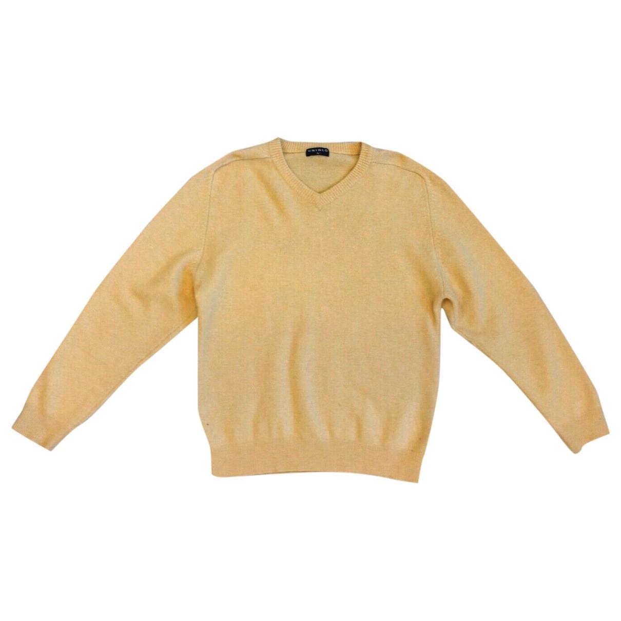 Uniqlo \N Yellow Wool Knitwear & Sweatshirts for Men L International