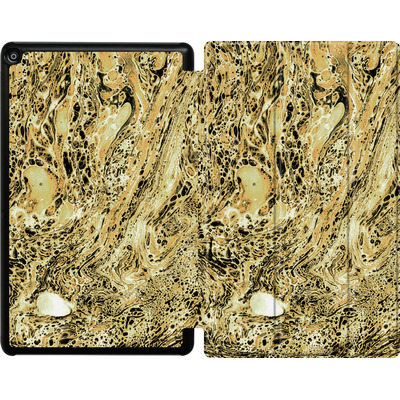 Amazon Fire HD 10 (2018) Tablet Smart Case - Marbled Sand von Amy Sia