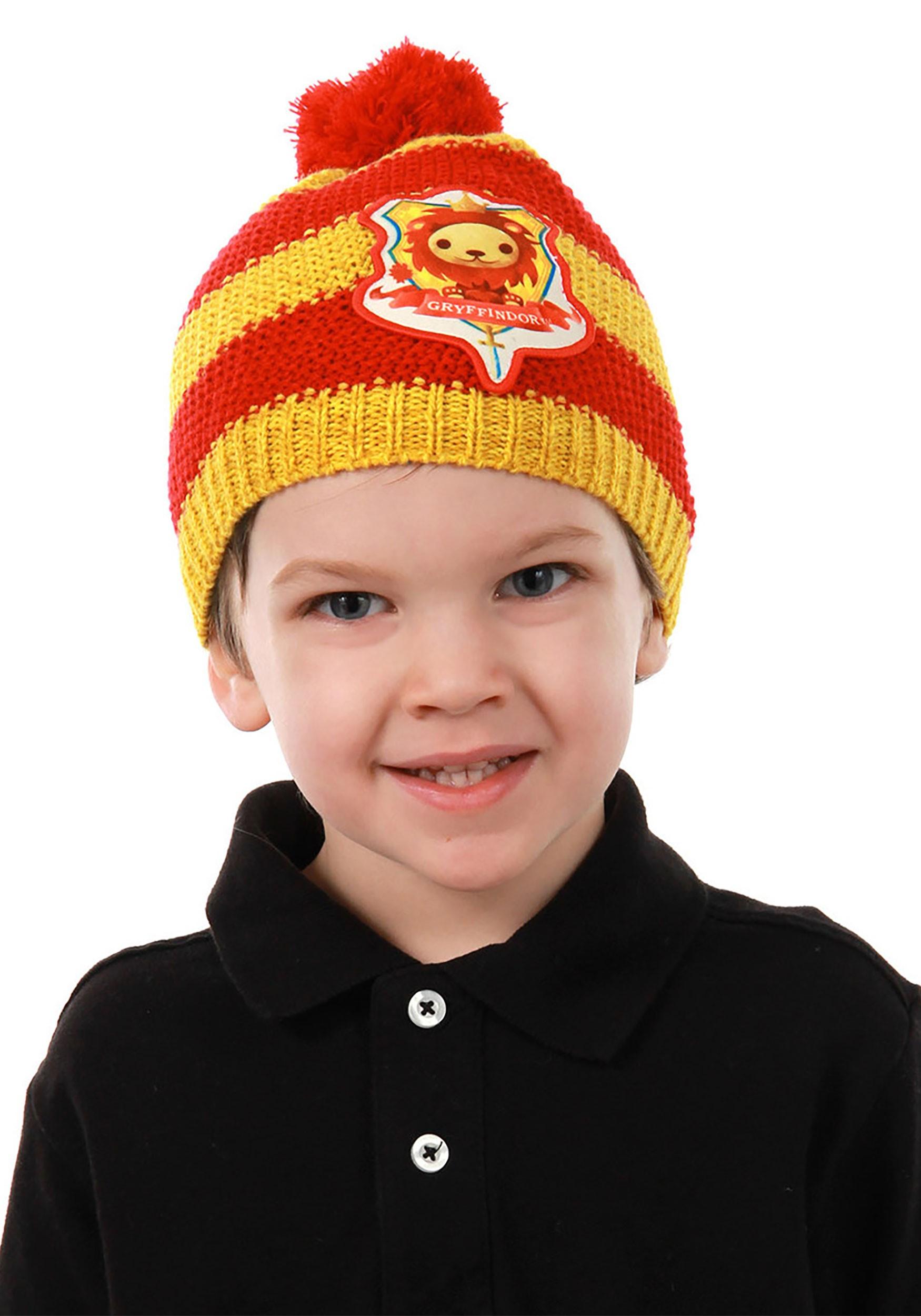 Toddler Gryffindor Knit Pom Beanie