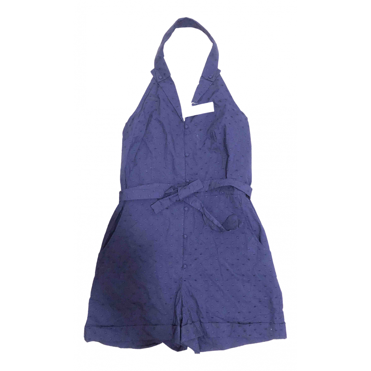 Princesse Tam Tam \N Navy Cotton jumpsuit for Women 38 FR