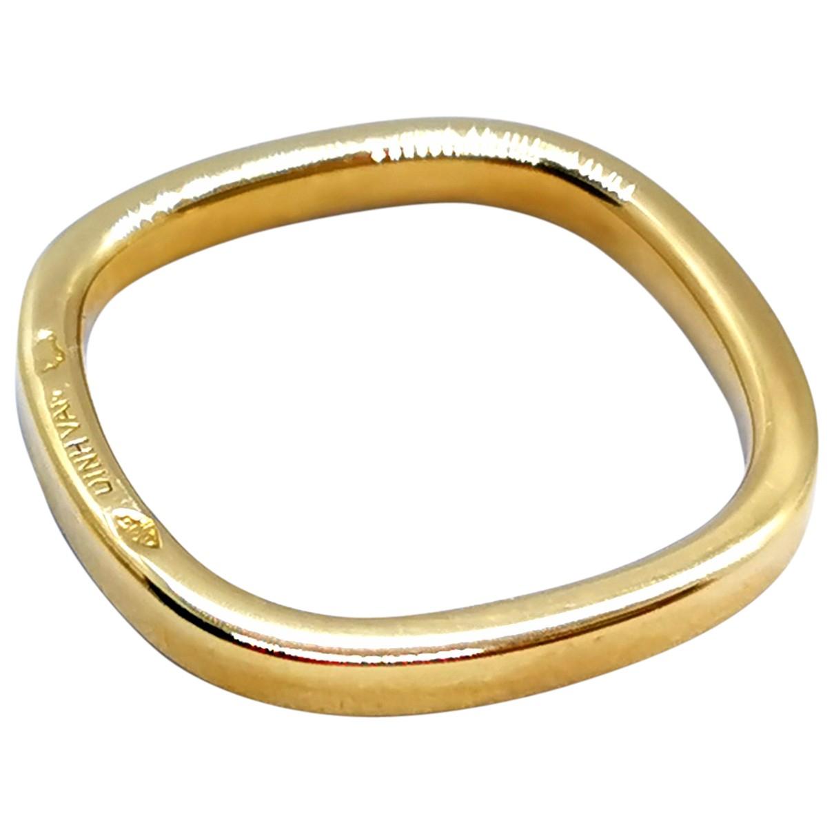 Dinh Van - Bague   pour femme en or jaune - dore