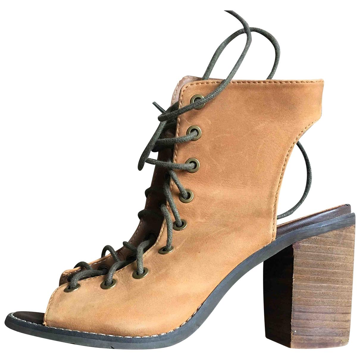 Sandalias de Cuero Ann Demeulemeester