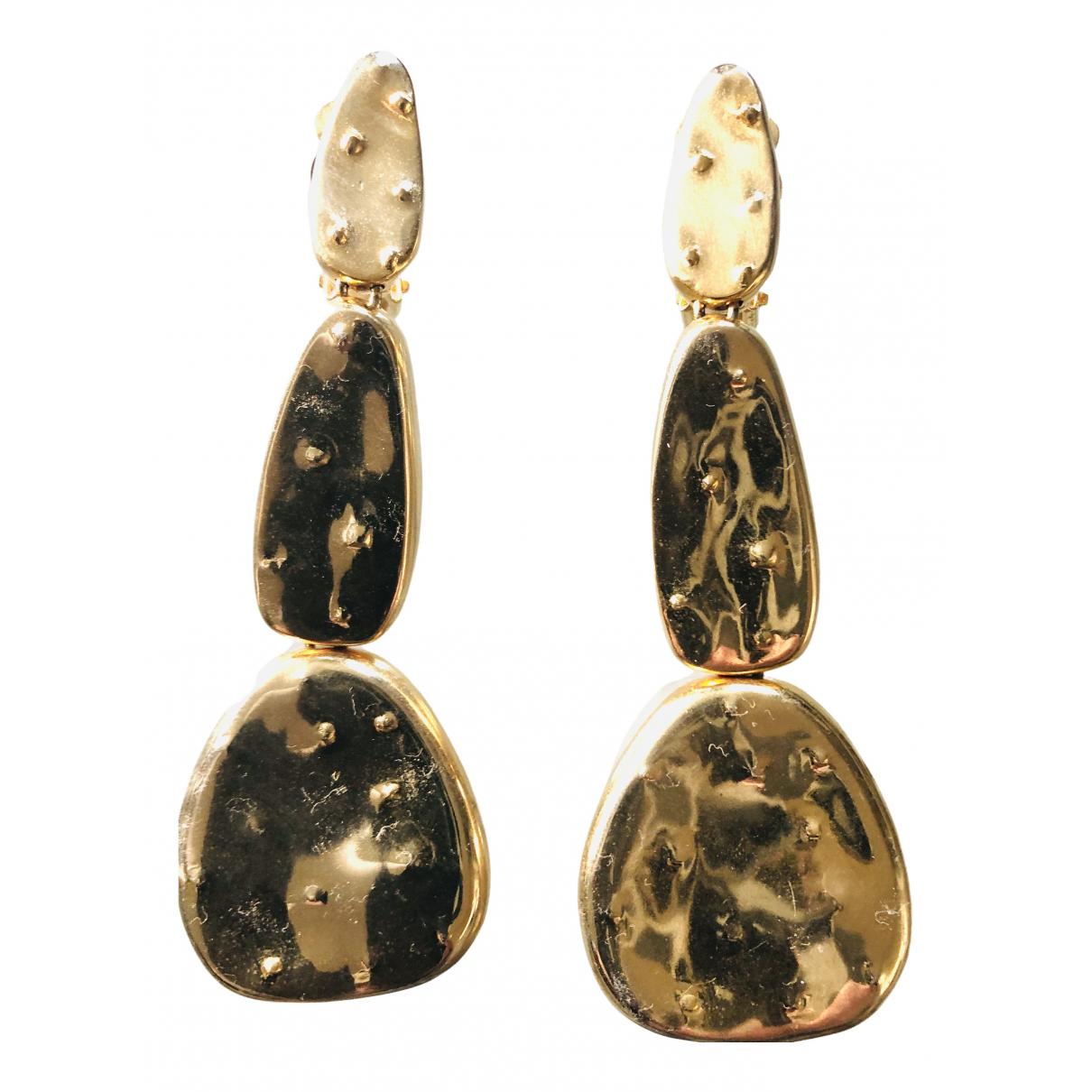 Joelle Kharrat N Gold Gold plated Earrings for Women N