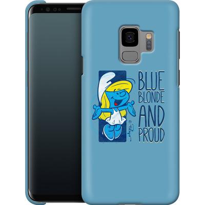 Samsung Galaxy S9 Smartphone Huelle - Blue, Blond and Proud von The Smurfs