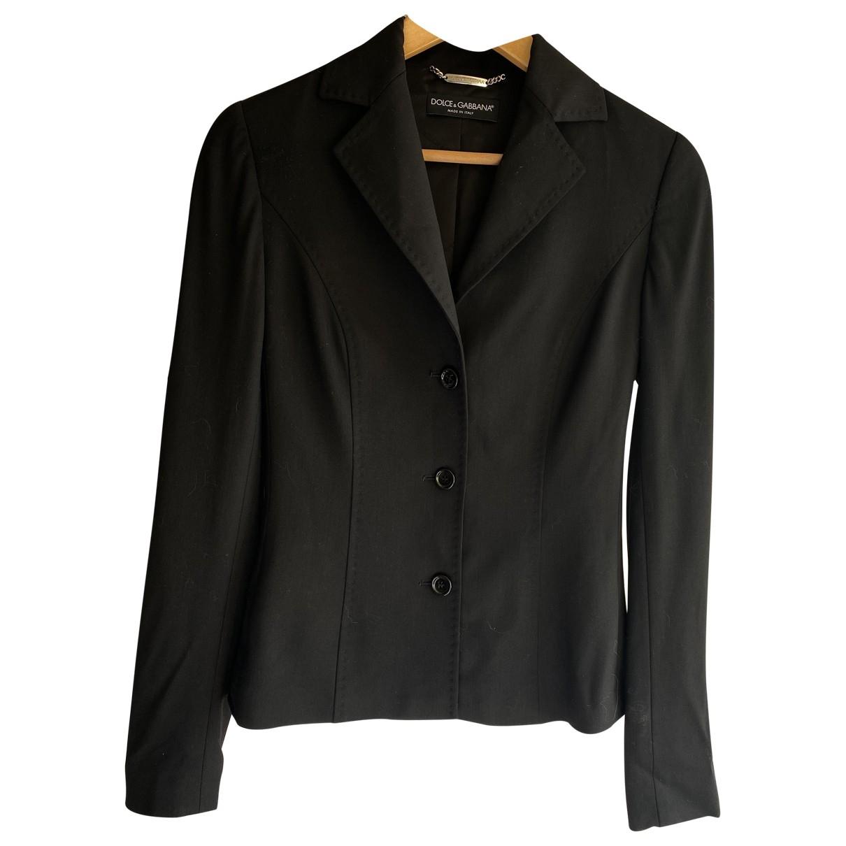 Dolce & Gabbana \N Black jacket for Women 38 IT
