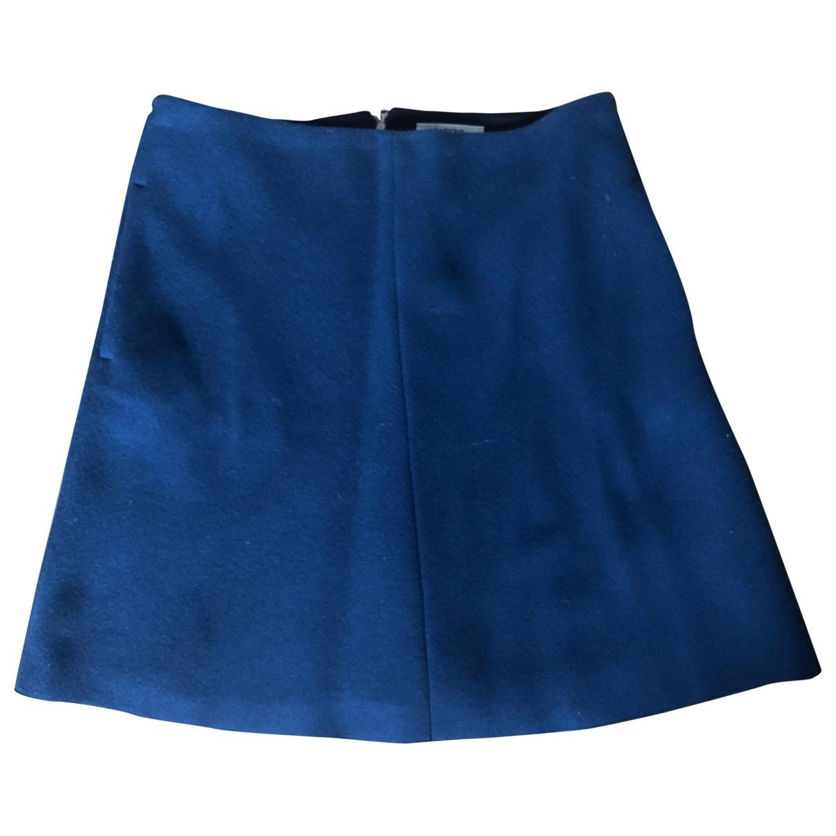 Carven \N Rocke in  Blau Wolle