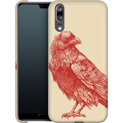 Huawei P20 Smartphone Huelle - Red Raven von Terry Fan
