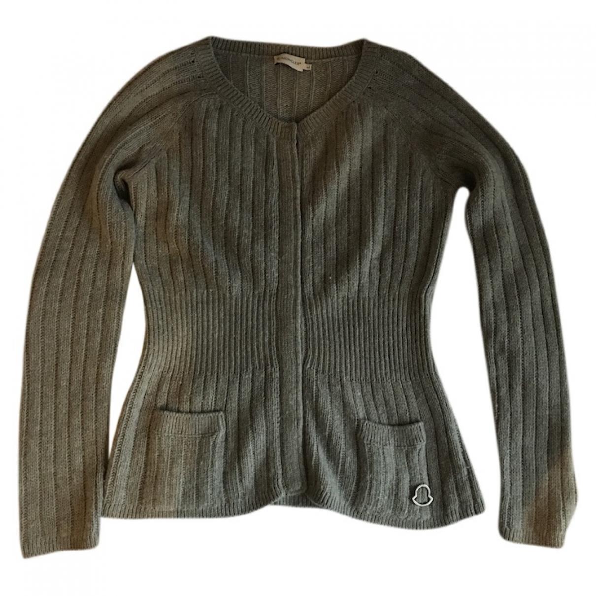 Moncler \N Pullover in  Grau Kaschmir