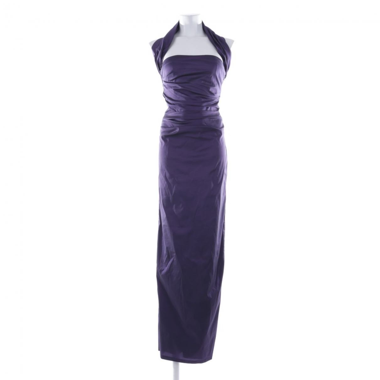 Talbot Runhof \N Kleid in  Lila Synthetik