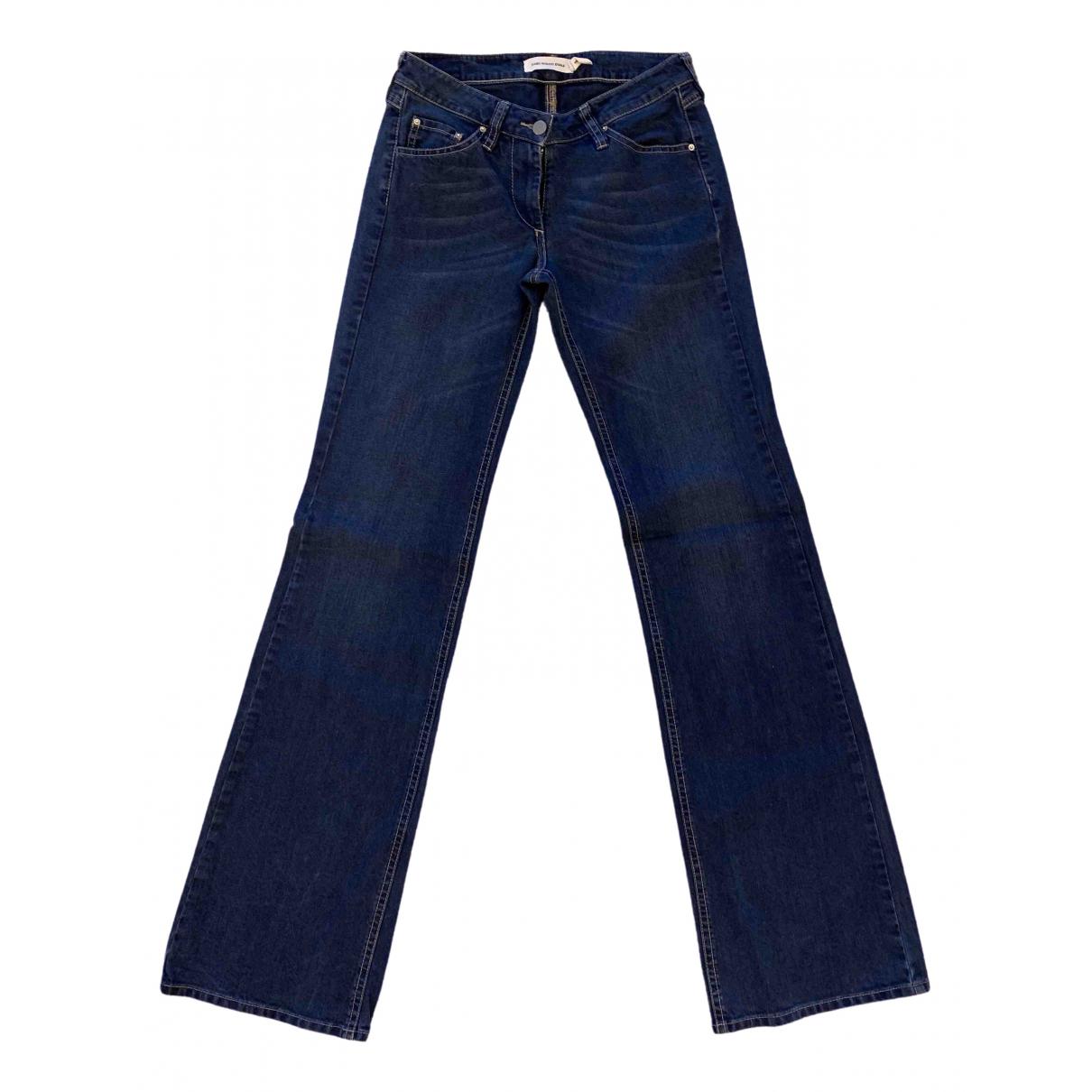 Isabel Marant Etoile \N Blue Cotton - elasthane Jeans for Women 36 FR