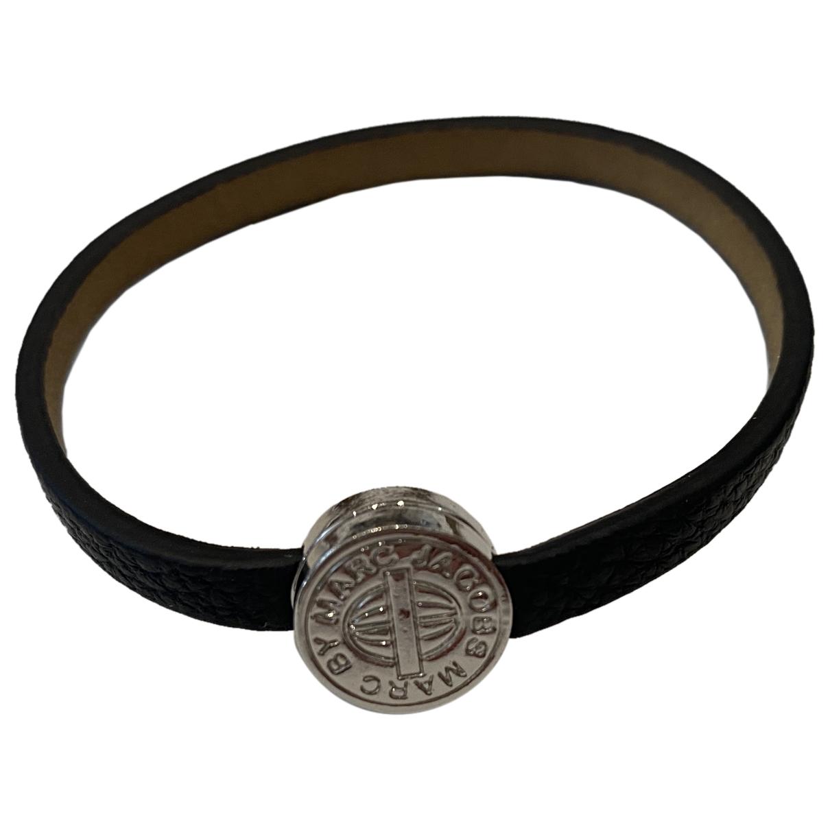 Marc Jacobs \N Armband in  Schwarz Leder