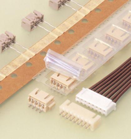 JST , XH, S4B, 4 Way, 1 Row, Right Angle PCB Header (500)