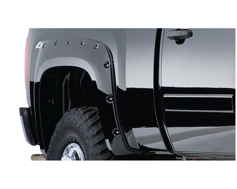 BUSHWACKER - FENDER FLARES CUTOUT STYLE 2PC Ford Ranger Rear 1993-2011