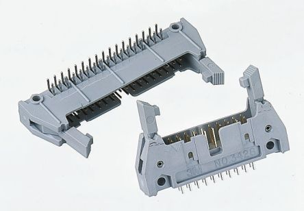 3M , 3000, 60 Way, 2 Row, Right Angle PCB Header