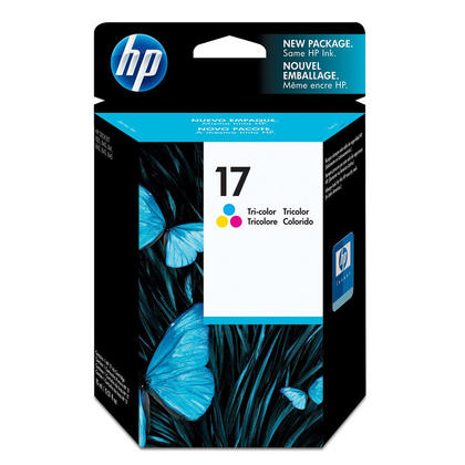 HP 17 C6625AN Original Tri-color Ink Cartridge