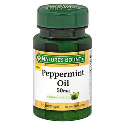 Nature's Bounty Peppermint Oil Coated Softgels 90 Caps by Nature's Bounty