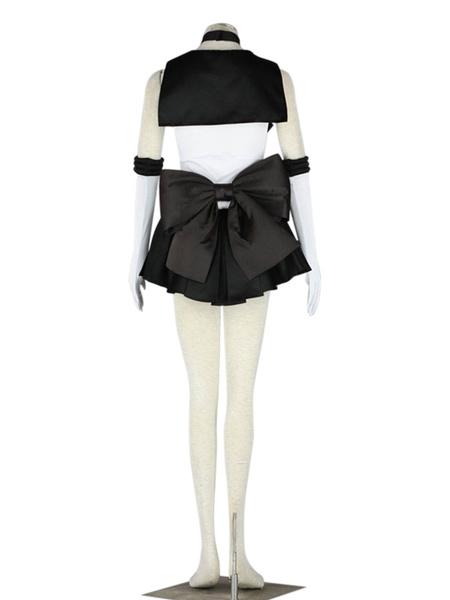 Milanoo Sailor Moon Sailor Pluto Halloween Cosplay Costume Meiou Setsuna Cosplay Costume
