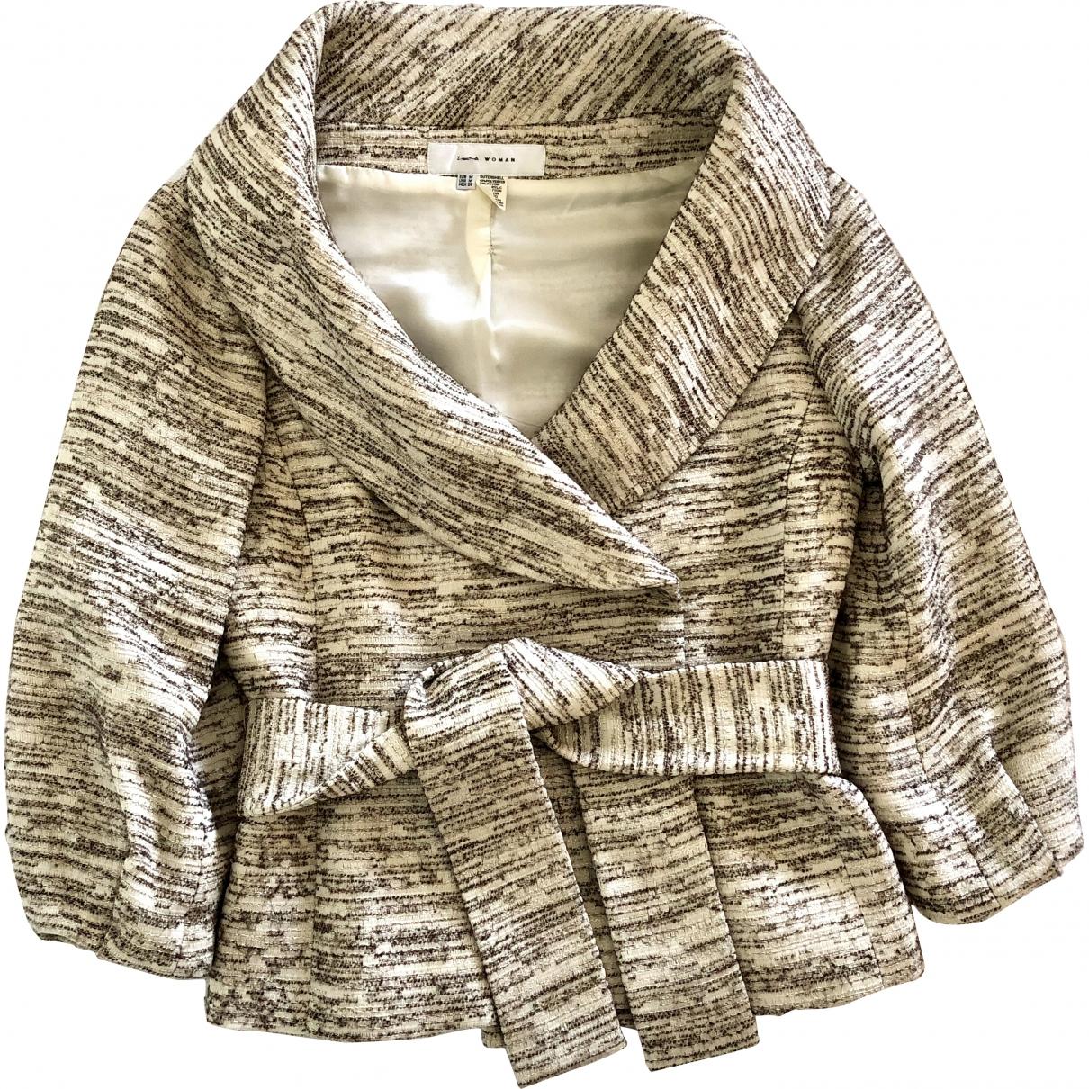 Zara \N Beige coat for Women M International