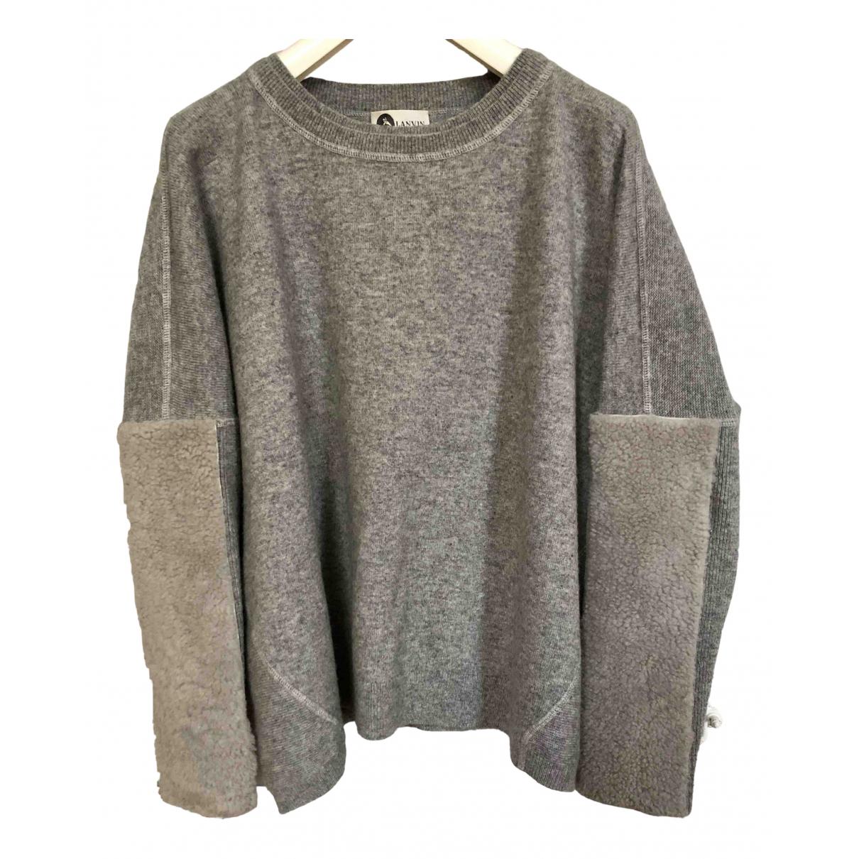 Lanvin N Grey Cashmere Knitwear for Women M International