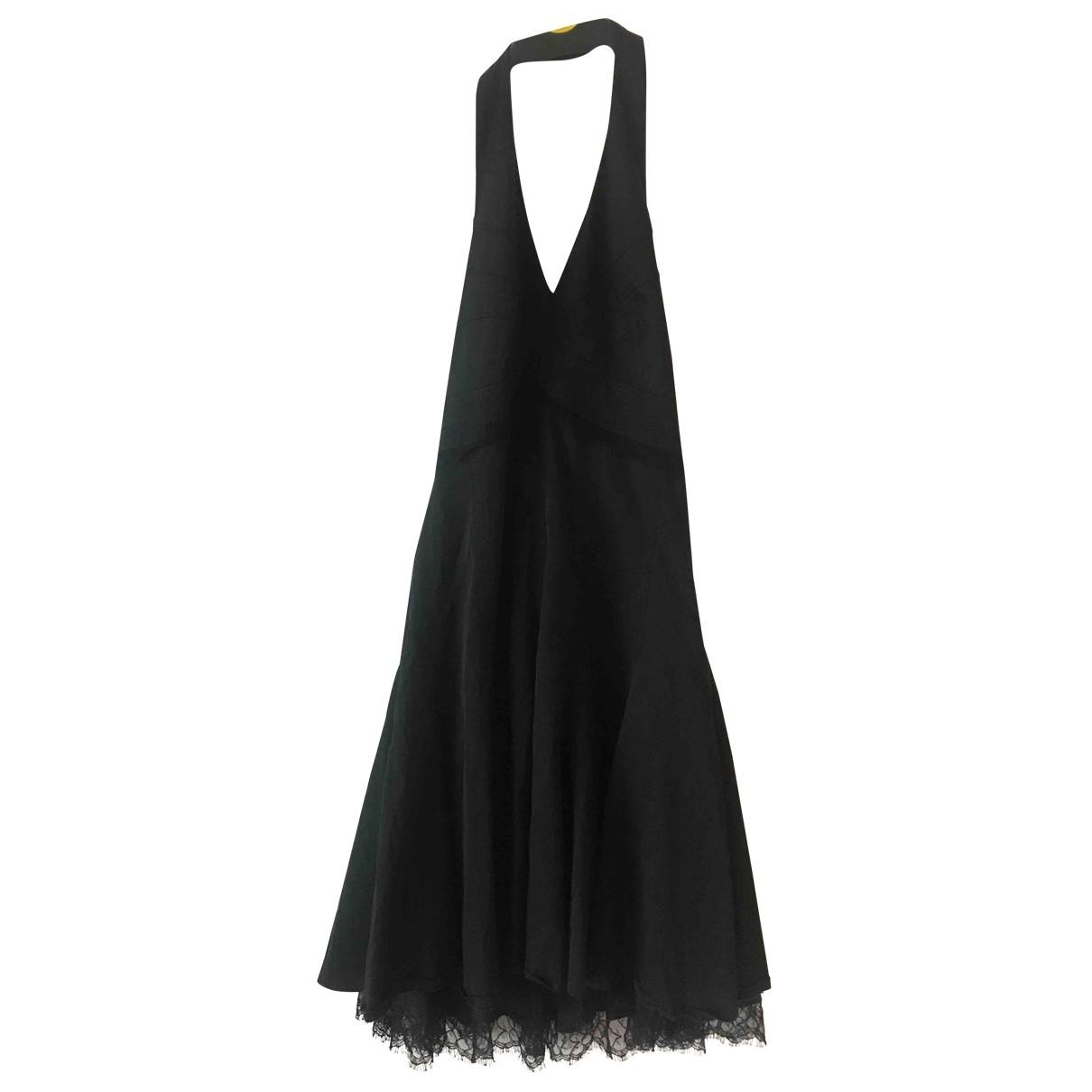 Karen Millen \N Black Cotton dress for Women 8 UK