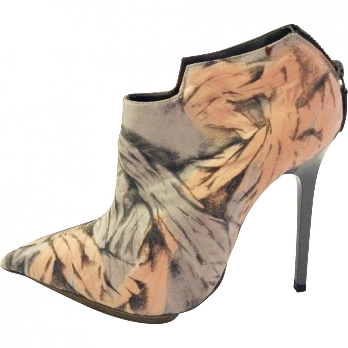 Balenciaga - Boots   pour femme en toile - gris