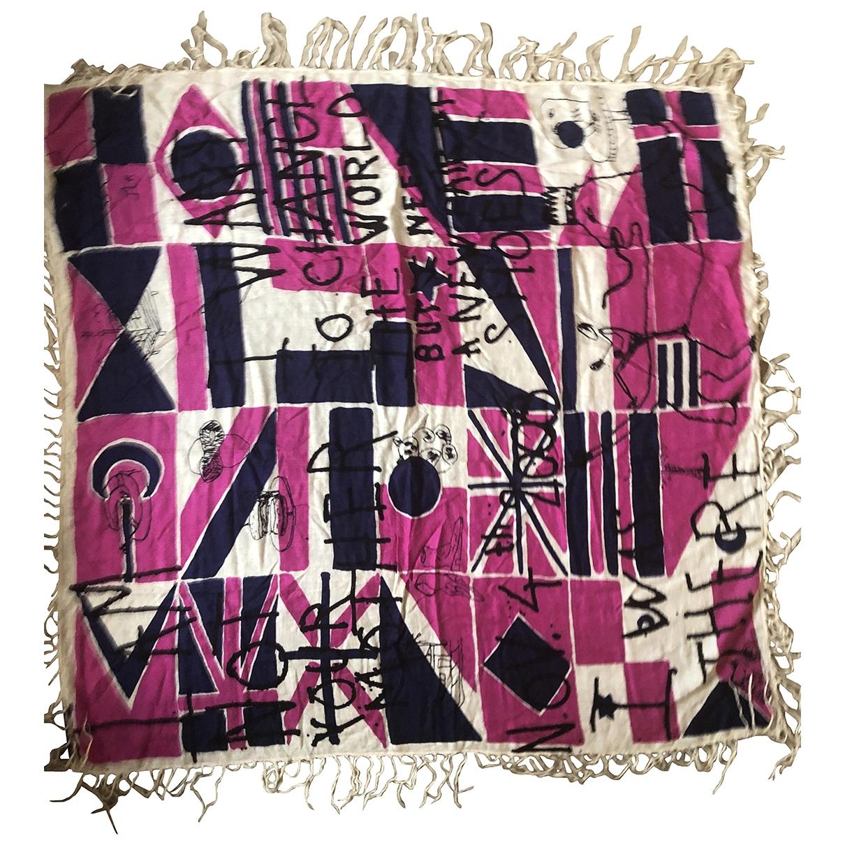Isabel Marant Etoile - Foulard   pour femme en soie - multicolore