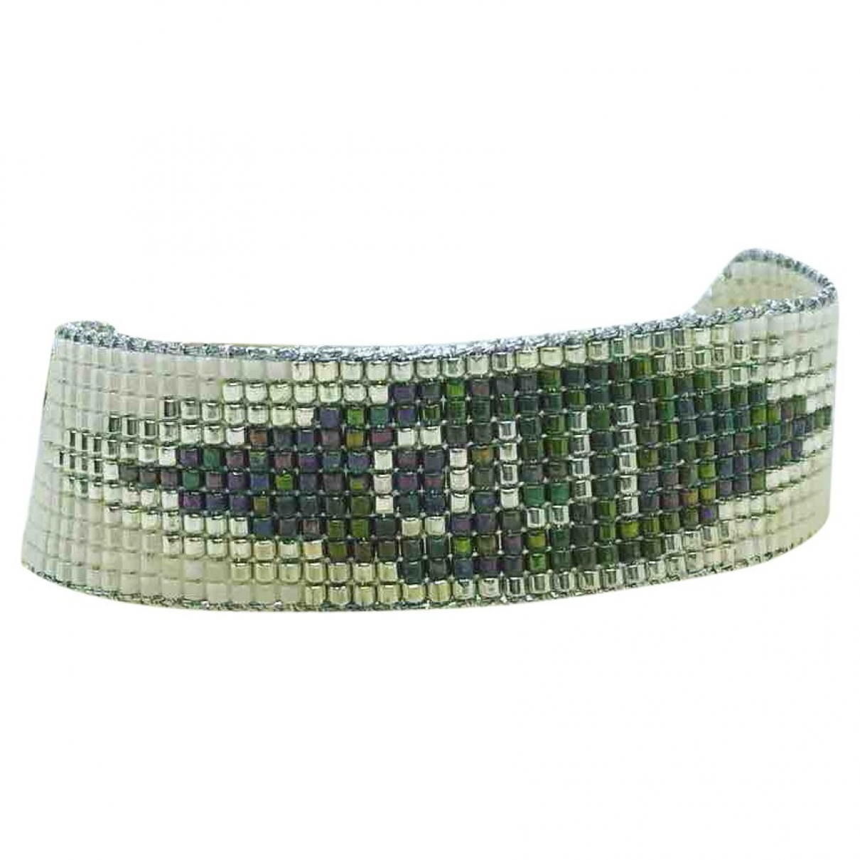 Non Signe / Unsigned \N Armband in  Bunt Perle