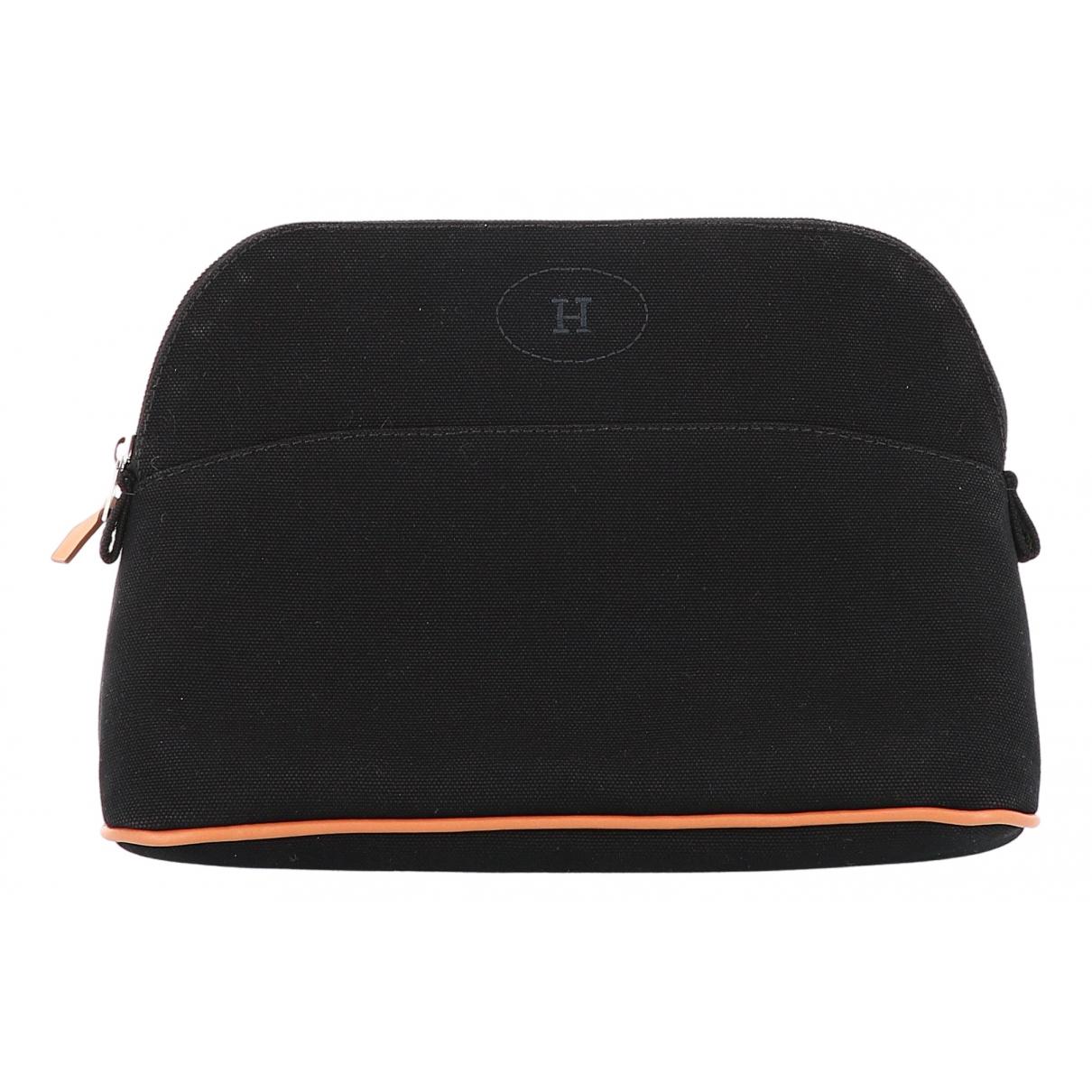 Hermès Bolide Black Cloth Travel bag for Women N
