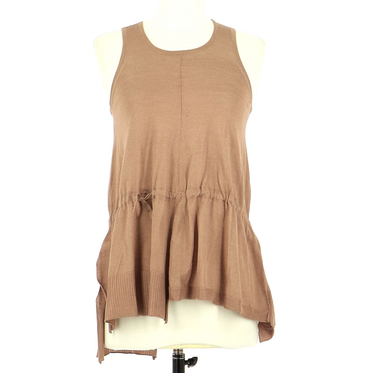 Paul Smith N Brown Silk  top for Women 38 FR