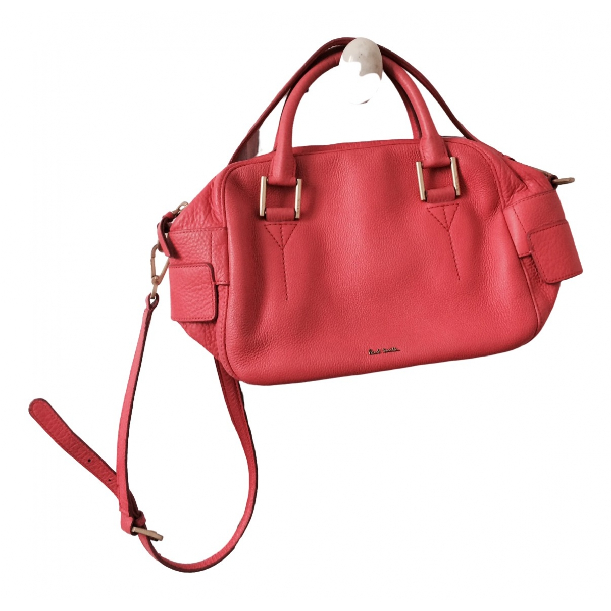 Paul Smith \N Pink Leather handbag for Women \N