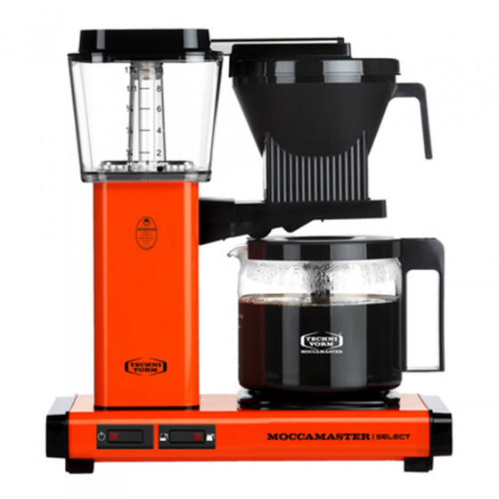"Filterkaffeemaschine Moccamaster ""KBG 741 Select Orange"""