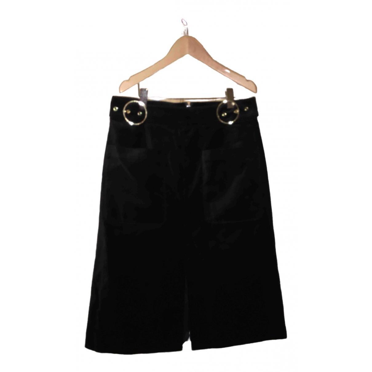 Whistles - Jupe   pour femme en coton - noir