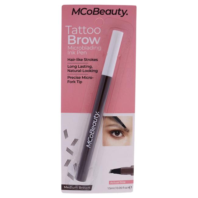 Tattoo Brow Microblading Ink Pen - Medium-Brown