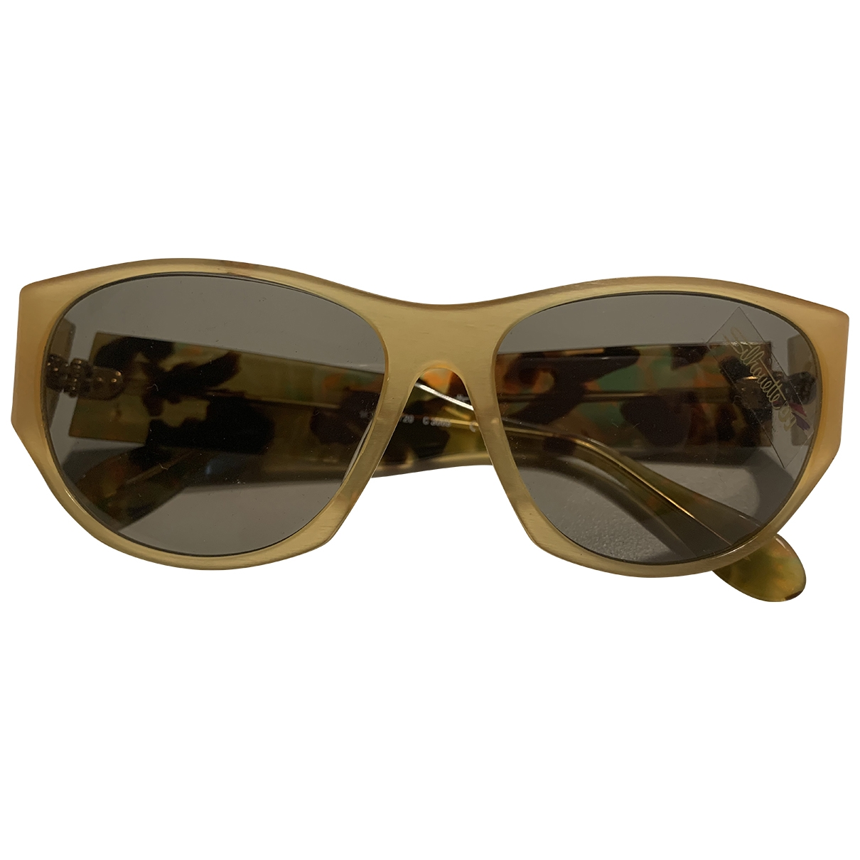 Silhouette \N Yellow Sunglasses for Women \N