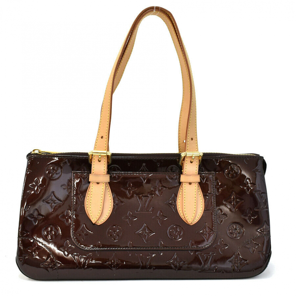 Louis Vuitton N Patent leather handbag for Women N