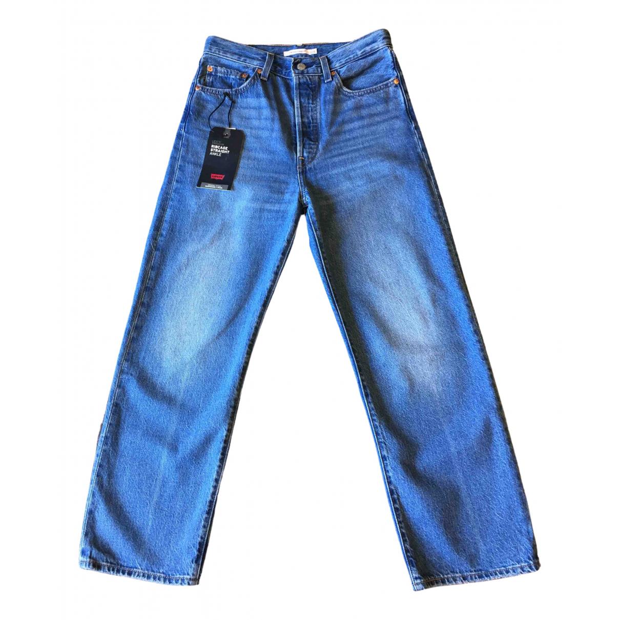 Levi's \N Blue Denim - Jeans Jeans for Women 28 US