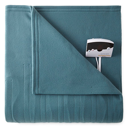 Biddeford Comfort Knit Heated Blanket, One Size , Blue