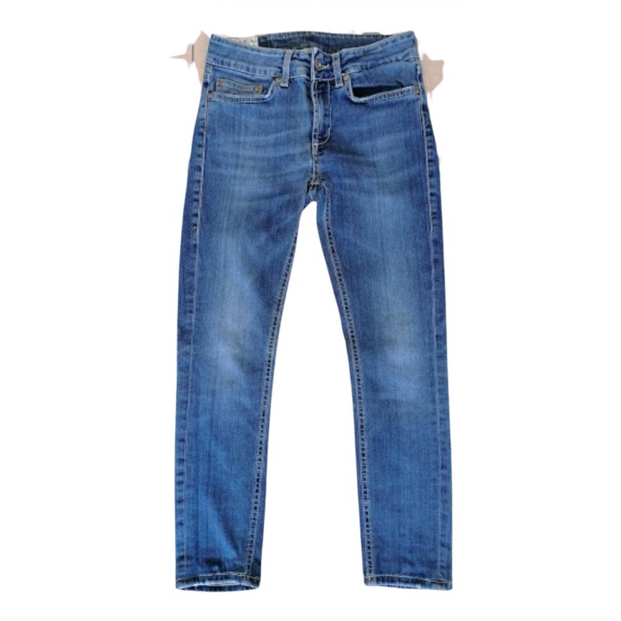 Dondup - Pantalon   pour femme en denim - bleu